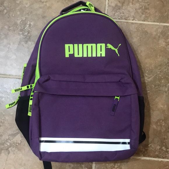 6184401ad67 Puma Bags   Nwot Backpack   Poshmark